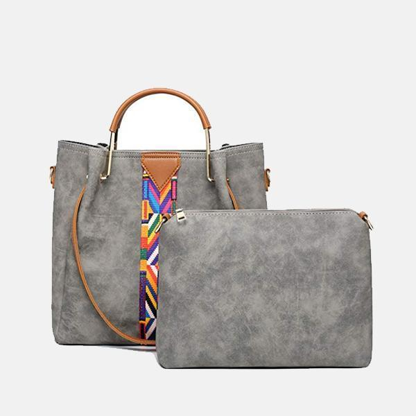 Trendy Colourful Strap Hand Bag