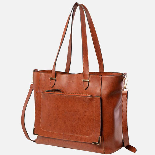 Lacira® Classic Fashionable Handbag for Women - Brown