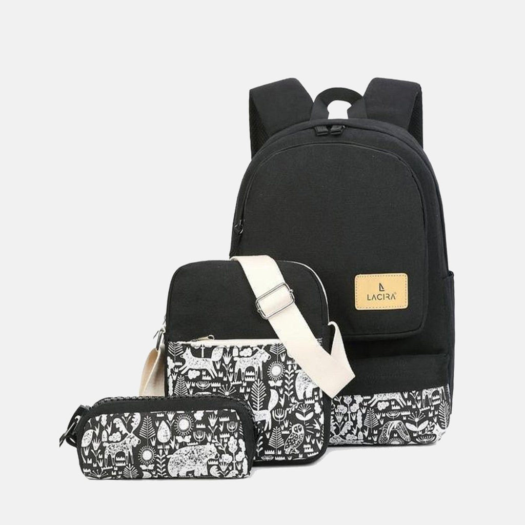 Funky & Artistic Backpack - Set of 3