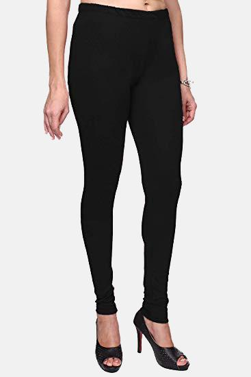 Black Color Plain Churidar Legging (Size – XS to 5XL)