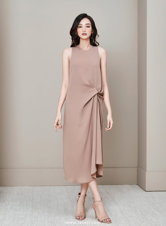 IDA Dress With Knot Detail
