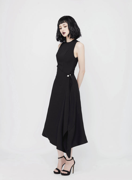 CAMILLE CREPE DRESS