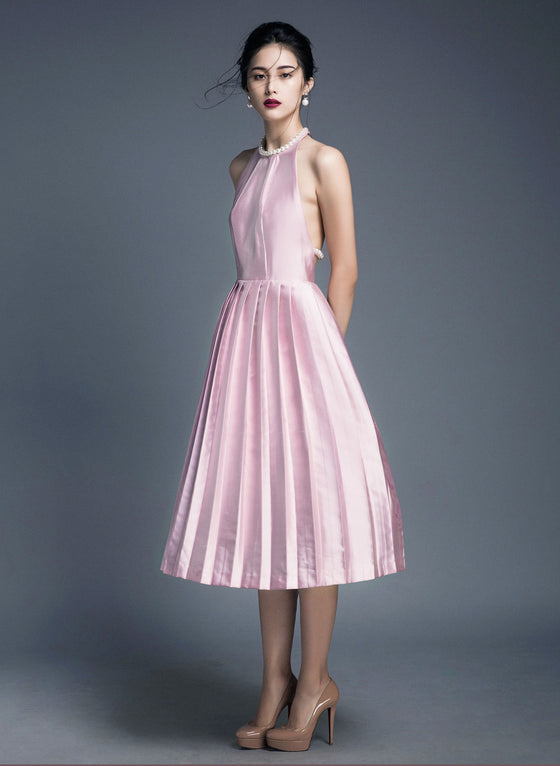 ALICE PLEATED DRESS