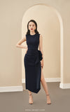 JACQUELINE Ruffle Side Dress