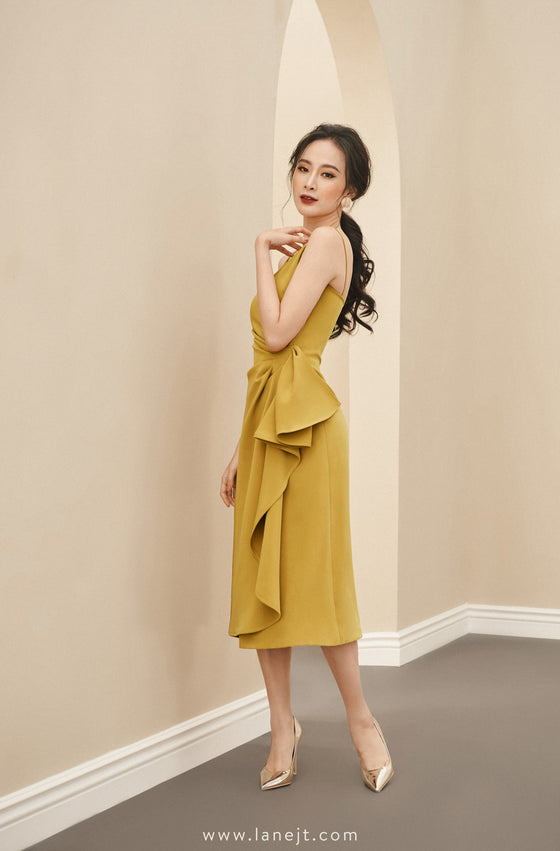 BEATRICE Draped Cami Dress