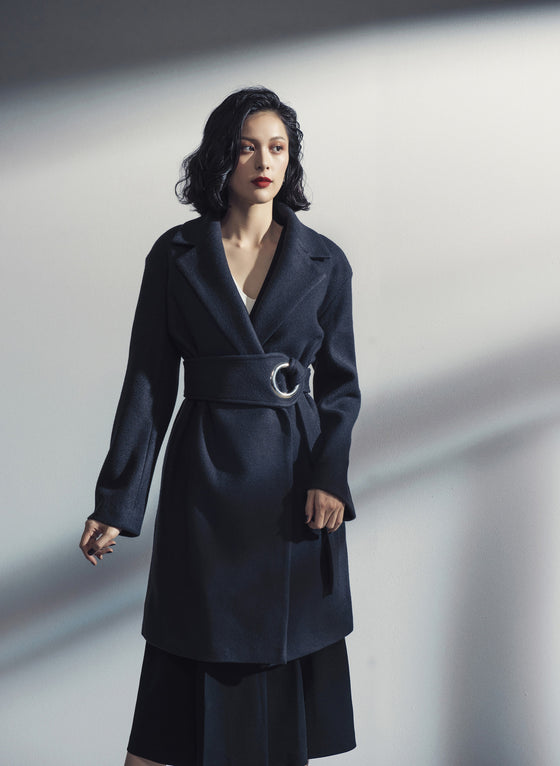 BROOKLYN BELTED COAT