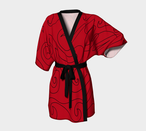 Graphite Red Robe