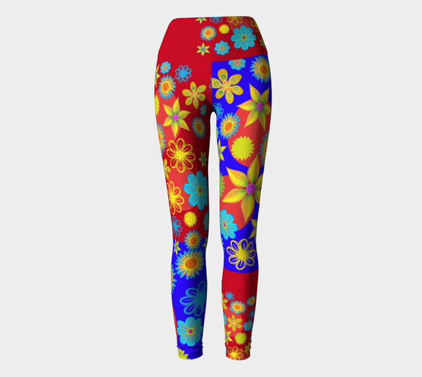 Flower Max Color Yoga Sport