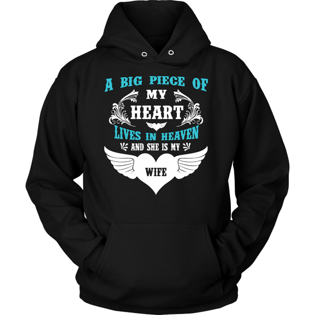 Apparel - A Big Piece Of My Heart My Wife