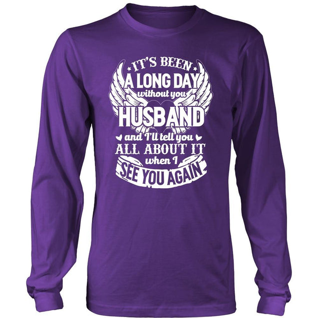 Apparel - A Long Day Without You Husband