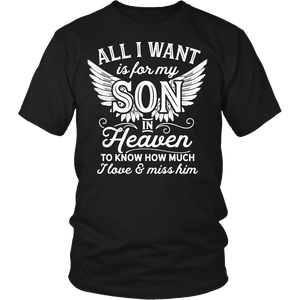 Apparel - All I Want Is For My Son