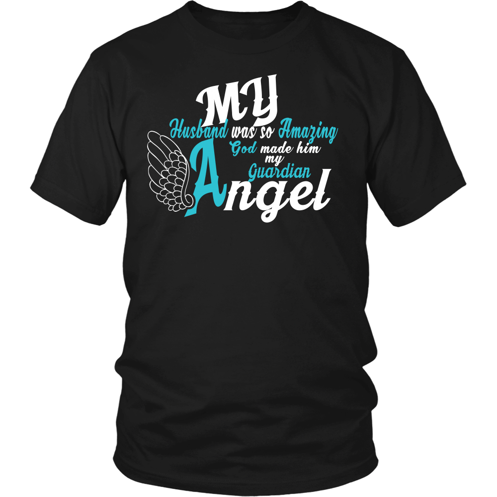 Apparel - My Husband Is My Guardian Angel