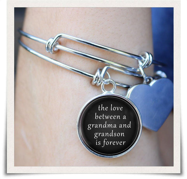 Grandma & Grandson Necklace & Bangles