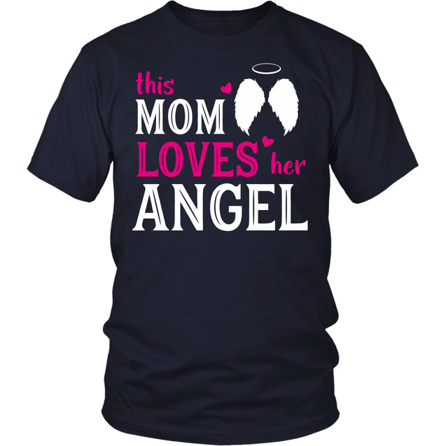 This mom loves her angel