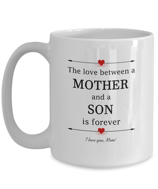 Coffee Mug - Mother And Son Coffee Mug
