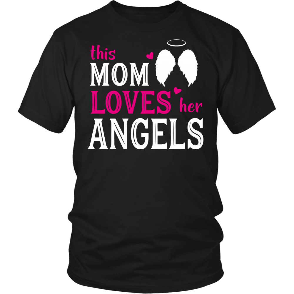This mom loves her angels