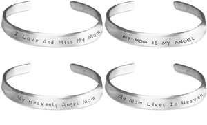 My Mom Memorial Bracelets Set