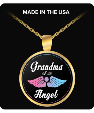 Necklace - Grandma Of An Angel