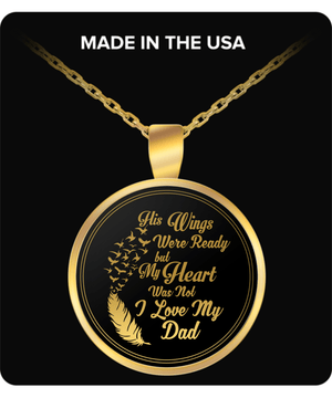 Necklace - I Love My Dad