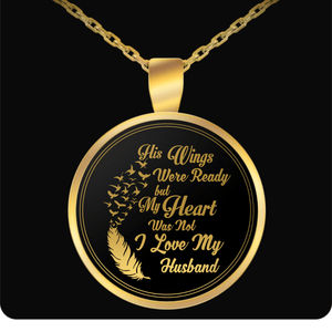 Necklace - I Love My Husband