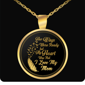 Necklace - I Love My Mom