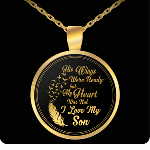 Necklace - I Love My Son
