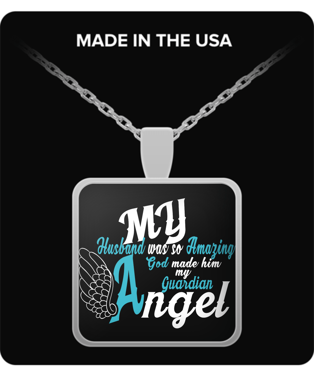 Necklace - My Husband Is My Guardian Angel
