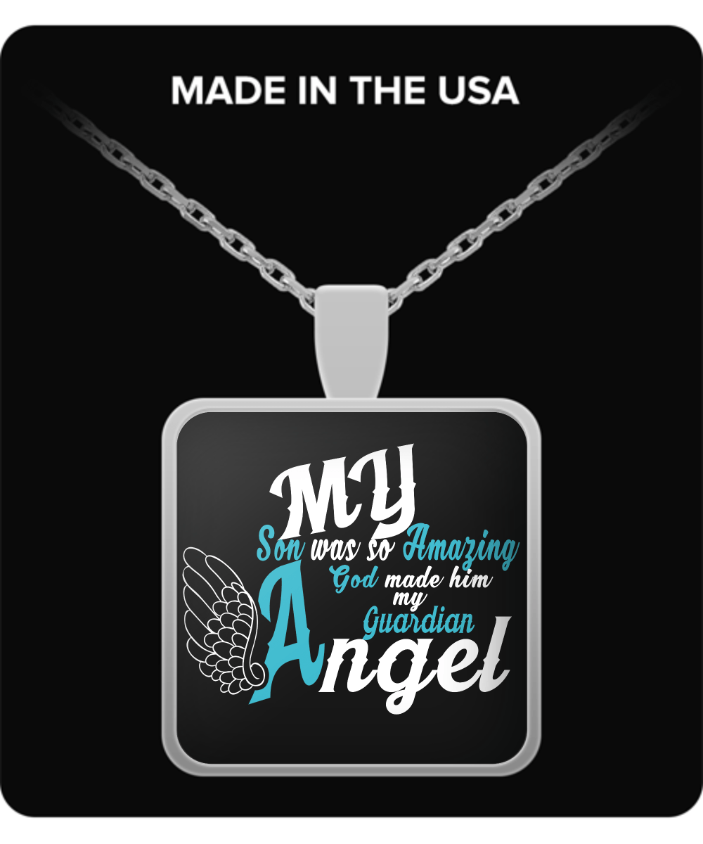 Necklace - My Son Is My Guardian Angel