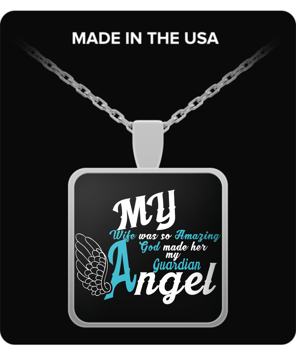 Necklace - My Wife Is My Guardian Angel