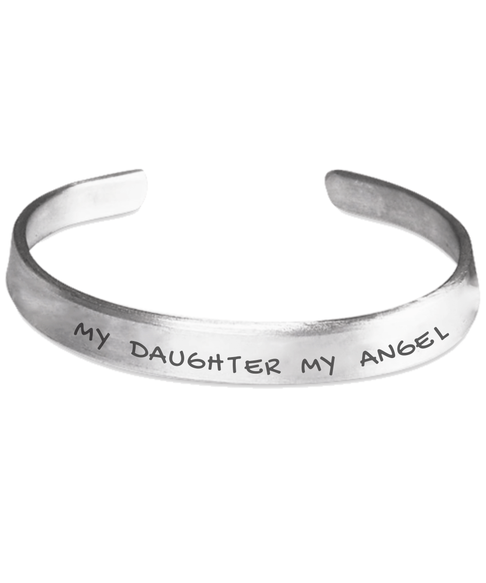 Personalised Bracelet - My Daughter My Angel Bracelet