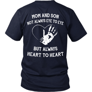 Mom And Son Always Heart To Heart T-Shirt