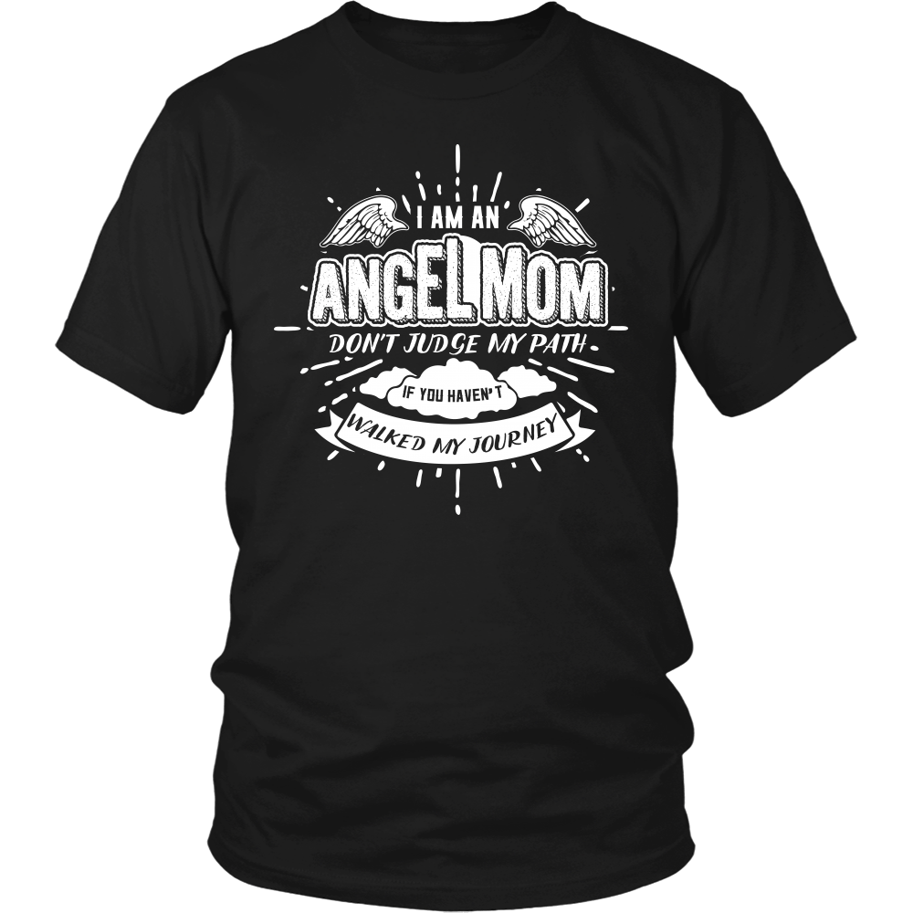 T-shirt - Angel Mom T Shirt