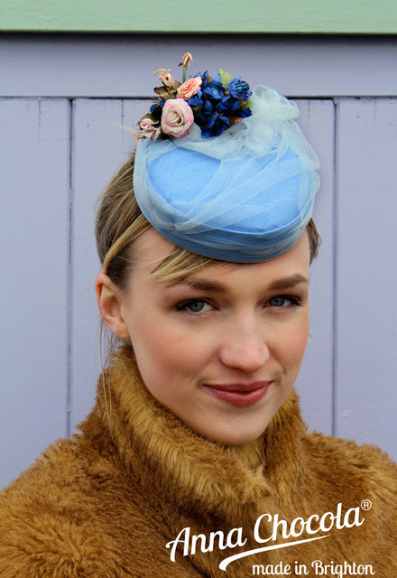 "La Collection ""Coquette"" Pillbox Hats by Anna Chocola® 2013"