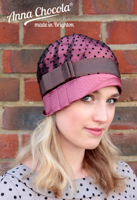 Lace Collection Inès Cloche Hat - Anna Chocola® 2014