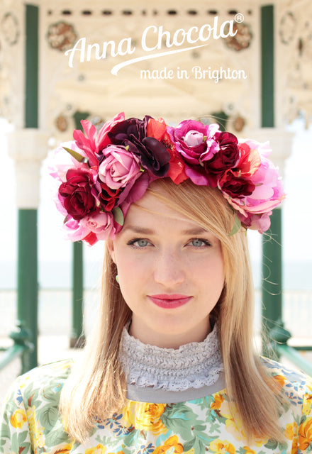 Frida Folk Flower Crown - Anna Chocola® 2014