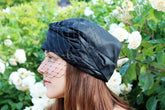 1920s Glam Satin Turban Hat - Anna Chocola® 2013