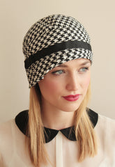Black & White Woven Houndstooth