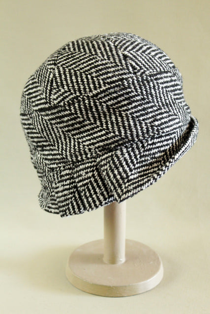 Donegal Herringbone Inès Cloche Hat