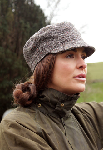Wool Tweed Cap