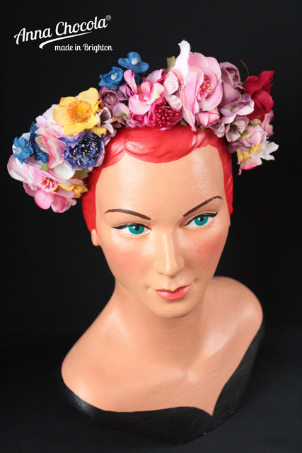 Colourful Folk Flower Crown