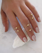 FINGERTIP RING- 14k Yellow Gold