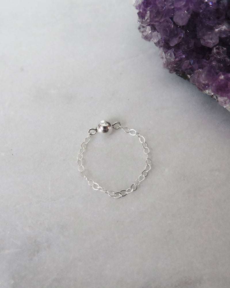 FINGERTIP RING- Sterling Silver