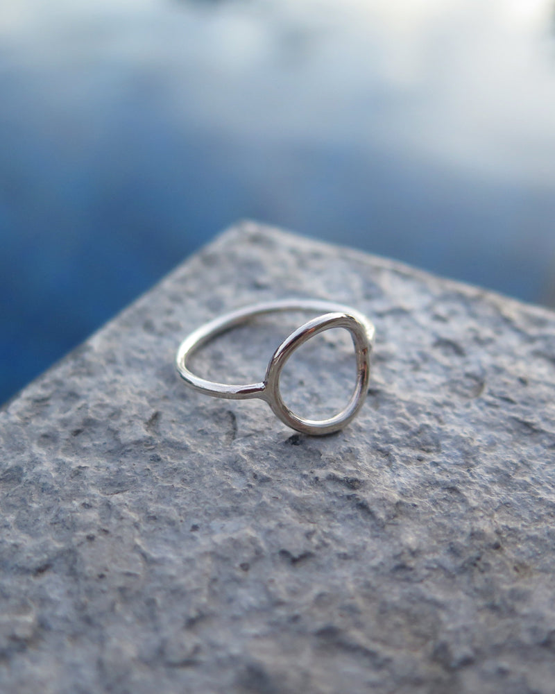 CIRCLE RING- Sterling Silver