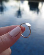 COIN RING- Sterling Silver