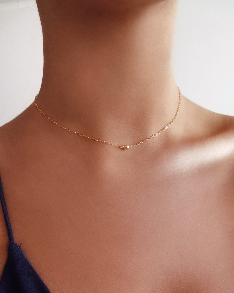 CLASSIC NECKLACE- 14k Yellow Gold