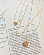 LARGE MIRACULOUS MEDAL NECKLACE- 14k Yellow Gold
