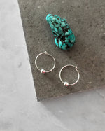 CLASSIC HOOP EARRINGS- Sterling Silver