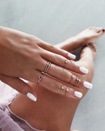 FINGERTIP RING- 14k Rose Gold