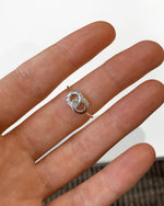 INTERLOCKED RING- Sterling Silver