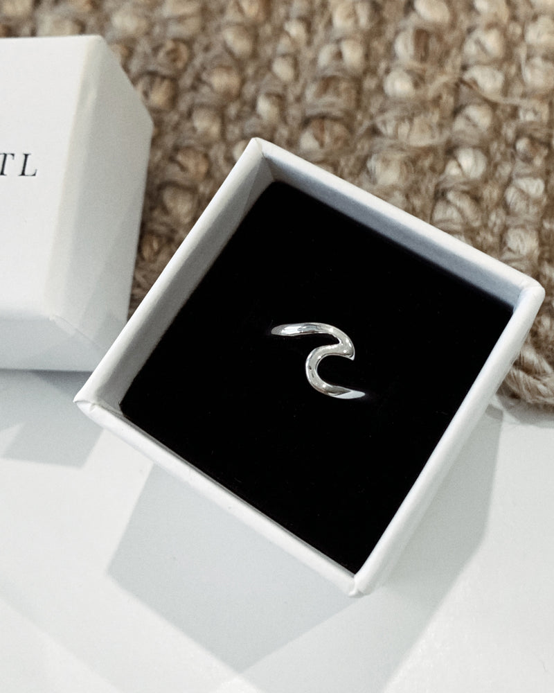 WAVE RING- Sterling Silver